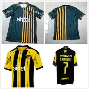 2019 2020 2021 Club Atletico Penarol Soccer Jerseys Peñarol Uruguay Lucas Ezequiel Viatri New Home Fabrico Formiliano Football Shirts