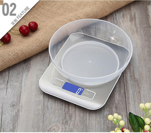 5kg 1g Precise Home Electronic Scale LCD Display Electronic Bench Weight Scale Kitchen Cooking Measure Tools Digital Scale EWE1150