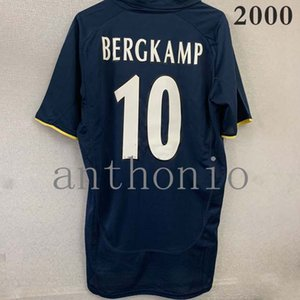 Üst 2000/21 Retro Futbol Formaları Star Wright 8 Adams 6 Vieira Henry Martin Keown Bergkamp 10 Eve Uzakta Futbol Gömlek De Klasik Futbol Jersey Tayland Gömlek S-2XL 2001