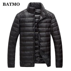 Batmo 2019 New Arrival High Quality 90% White Duck Jackets Men ,men's Thin Down Jacket ,plus-size M-5xl 778