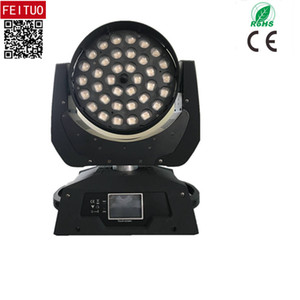 Professional 36 x 15w Led Zoom Moving Head DMX Light RGBWA 5in1 Wash Led Moving Head Lyre Touch Screen Wash Zoom Mobile Head