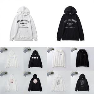 21 ss Herren Designer Hoodies Mode Womens Herbst Winter Casual Langarm Jacke Männer Pullover Brief Drucke Stickerei Sport Sweatshirt