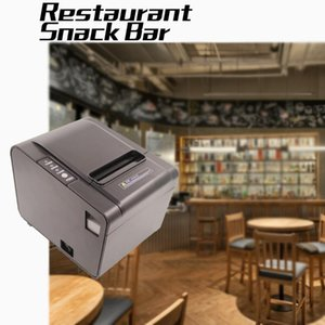 Restaurant Retail Store Receipt Printer for 80mm ticekt bill thermal paper supermarket USB COM RJ45