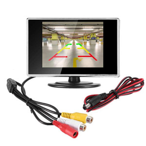 3.5 inch LCD Display Monitor Device for Car Bus Truck Boat Reverse Rear View Camera