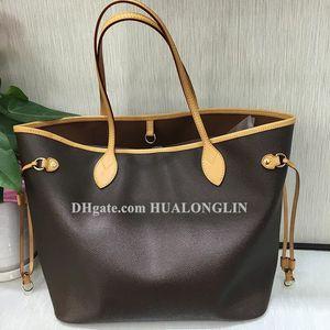 Alta série qualidade mulheres bolsa bolsa de ombro código data código serial número verificador saco de compras sacida flor