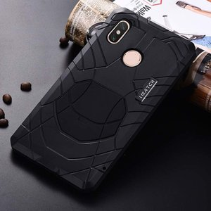 Luxury Outdoor IMATCH Original For Xiaomi MI Max 3 Sports Army Tactical Shockproof Waterproof Metal & Silicone Phone Case JS0468