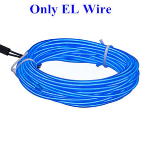 Flexible Neon Light 5m 1m 3v Glow El Wire Rope bande de câbles bande LED Neon Lights Chaussures Vêtements voiture étanche Led Strip jllUnk bdefight