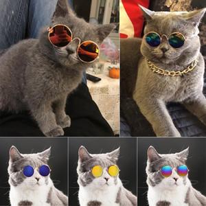 Gafas Gafas de sol Little Dog Products For Pet Cat Lovely Pet Dog Cat Eye-Wear Fotos de los ojos Accesorios FBEHR