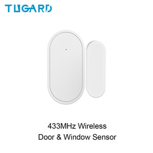 New D30 433mhz Wireless Door Window Sensor Detector Mini Tamper Alarm Sensor for WiFi GSM 3G 4G Home Security Alarm System