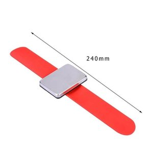 Professioneller Salon Magnetic Armband Handgelenk Band Strap Gurt Haarspange Halter Haarschmuck Friseur Friseur Qyldxd Bdehair