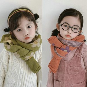 New Fashion Autumn Winter Children Scarf Knitted Pure Color Warm Scarf Men Winter for Women Echarpe Femme Hiver Laine
