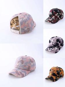 2020 Estilo caliente Punto de camuflaje Patrón de Camuflaje Cross Net Beanie Cap Hombre Sombreros Comercio Extranjero Diseñadores de Béisbol Caps Hats Mens