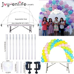 Table Arch Set Balloon Column Stand for Wedding Birthday Graduation Party Balloons Accessories Baby Shower Decorations Q1122