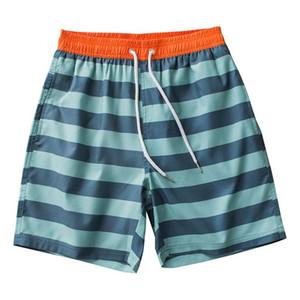 Summer Mens surf swimming Beach Board Shorts Sweatpants Quick Drying Male Maillot De Bain Sport striped shorts Bermuda Swimwear
