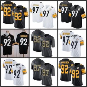 PittsburghSteelersred 97 Cameron Heyward 92 James Harrison WhiteNFL Men Women Youth Jersey retro soccer jersey