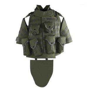 Охотничьи куртки тактики жилет OTV камуфляж кузовной доспеха с чехлы / прокладкой Одежда на открытом воздухе1