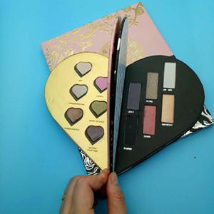 Beauty Hot Makeup pearl light Matte 12 color love double eye shadow Fine powder waterproof DHL Free