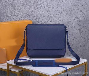 progettista della borsa di lusso borsa a tracolla M30362 romana L borsa borsa dell'uomo messenger vera pelle di qualità superiore