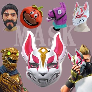 Battle Royale Game Accessories Christmas Halloween Dress Up Props Action Figure Masquerade Mask Toy