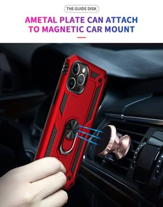 For iphone 12 mini 5.4 case Rotating Ring bracket magnet car mobile phone accessories shell stand For iphone 12 pro max cover free shipping