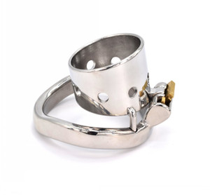 Small Penis Rings Stainless Steel Male Chastity Cage Sexual Wellness Bondage Cock Belt Lock Devices BDSM Sex Toys for Men 98