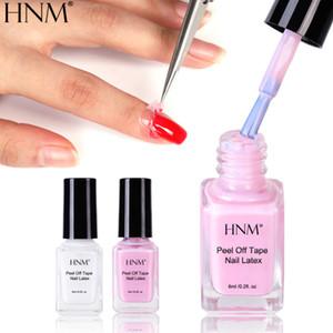 HNM 6ML Salon Gel Nail Latex Peel Off Tape Painting Gellak Enamel Soak Off Semi Permanent Lacquer Protect Nails Polish Decor