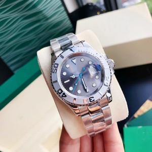 2020 Heißer Verkauf Classic Gold Herrenuhr 40mm Automatikwerk Mechanische Männer Edelstahl Uhren Uhr Kostenloser Versand Armbanduhr