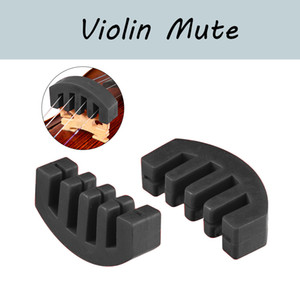 NAOMI 2PCS Violin Practice Heavy Rubber Violin Mute Silencer For Acoustic Electric Violin