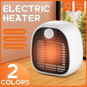 Chauffage électrique réglable à 2 vitesses 3S Chauffage mural chauffé rapide Hiver chauffe-hiver Home Bureau Bureau Fan Us / EU Plug1