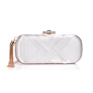 Purse Cocktail Designers Evening 2020 Party Clutch Tassles Bags Bag Shoulder Wedding Chain Detachable Paillette For Women Party Luxurys Fklu