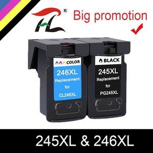 Чернильные картриджи YLC PG245 PG245XL PG-245XL PG-245 PG 245 XL 245XL Remanufacted Pixma IP 2820 MX 492 MG 2520 2924 2920