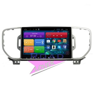 Roadlover Android 6.0 Car Multimedia Audio Player for Kia New Sportage R 2020- ستيريو GPS للملاحة 2 DIN Magntol راديو