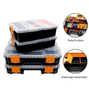 Large Toolbox Organizer Household Maintenance Electrician Tool Storage Box Multifunctional ABS Hardware Car Repair Anti-fall Box1