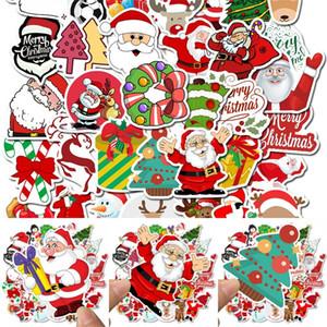 50 PCS Stickers Waterproof Christmas Sticker Luggage Laptop Skateboard Home Decor Graffiti Stickers Non Repetitive 4 5sl G2