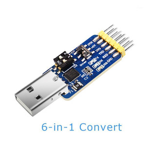 Çok fonksiyonlu USB-UART Dönüştürücü USB-TTL / RS485 / 232, L-RS232 / 485 / CAN, 232-485) Seri Adaptörü, CH340 / CP2102 Drive1