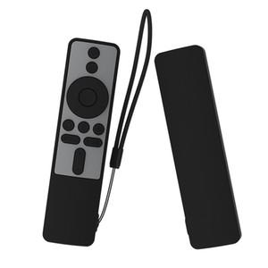 Cobertura completa para Xiaomi TV MI Box s Bluetooth WiFi Smart Control Remoto Caso de silicone à prova de choque à prova de choque da pele-friendly