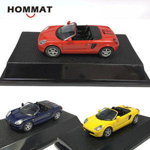 Hommat Simulation 1/43 Toyota MR2 Convertible Sports Model Car Lelegy Diecast Toy Toys Collectable Model Toys для детей X0102