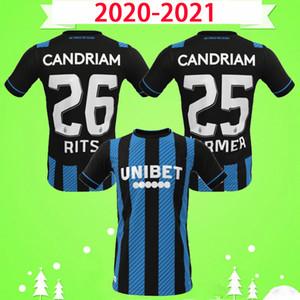 2019 2020 club brugge camiseta de fútbol local visitante soccer jersey camiseta de fútbol 19 20 # 14 OKEREKE # 42 DENNIS DIATTA TAU SCHRIJVERS VANAKEN VORMER Maillot de foot