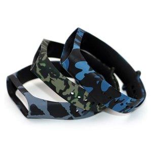 Sport Edition Strap Eco Friendly Silicon Camuflaje Reemplazo de la banda de la muñeca Pulsera para M4 Smart Bracele Fitness Equipment BBYIWI