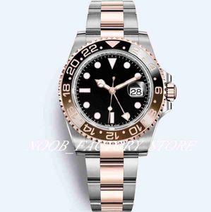 15 Style New Men Watch GMT 2813 Automatic Movement Ceramic Bezel 40MM Menes Watches Super Luminous Diving Original Box