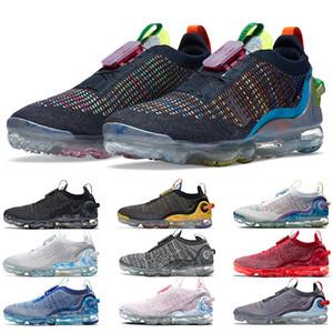 vapormax tn plus 2020 Chaussures de course Hommes Femmes pur Platinum foncé gris foncé bleu royal Mutil des femmes des hommes Baskets de sport Chaussures de sport Taille 36-45