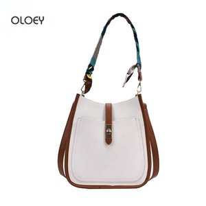 OLOEY Bags for women cross body bag woman Tote bag silk scarf handbag shoulder Fashion handbags