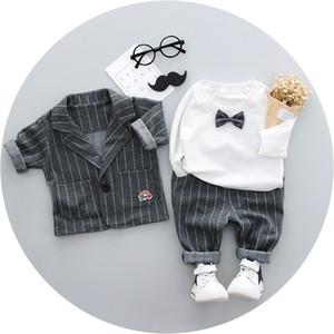Suit for Baby Boy Single Breasted Boys Suits for Weddings Costume Enfant Garcon Mariage Boys Blazer Jogging Garcon Kids Suits Y1113