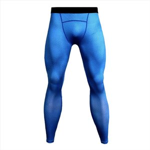 New Fitness Compression Pants Men Fashion 3D Joggers Sportswear Sweatpants Bodybuilding Trousers MMA Leggings Fitness Tights