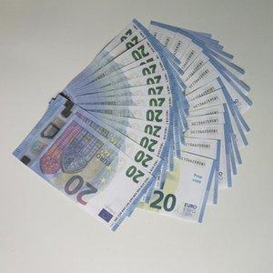 Игра Euros Bar Реалистичные Детские игрушечные стрельбы реквизиты поддельные подделки притворяются деньги 10 20 50 100 200 500 евро