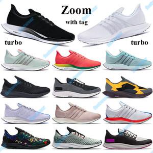 Zoom Fly Pegasus new 35 Malla Turbo Zapatillas Running Black Vast Blanco Blanco Azul Hero Hombres Mujeres Sneakers Gold Dart Entrenadores con TAG