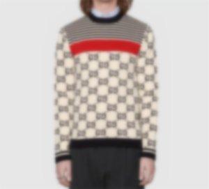 20ss мужской женской дизайнерский свитер люкс буквы пуловер мужчины толстовки с длинным рукавом активная толстовка вышивка трикотаж теплый зимняя одежда # 228