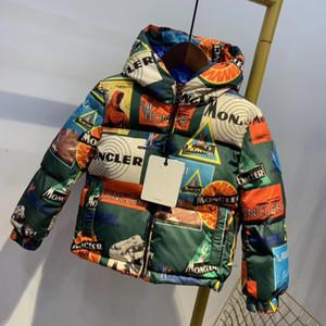 2020 Детская одежда Мальчики Куртки Дети с капюшоном на молнии Ветровка Baby Fashion печати пальто младенца Водонепроницаемые Толстовки для девочек