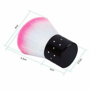 Soft Nettoyage Brosse Tools Fichier Nail Art Soins Manucure Pédicure Soft Supprimer Poussette Petite angle Nettoyage Champignon Brosse DHL 108 P2