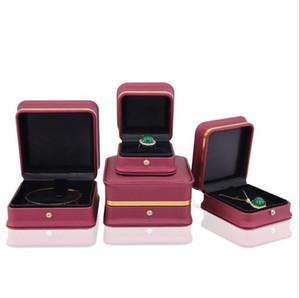 Bracelet Watches Boxes Exquisite Jewelry Storage Boxes PU Display Storage Case Travel Portable Box Organizer Jewelry Holder Gift Box WMQ388